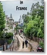 Vagabonds In France Book Cover Metal Print