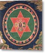Vajravarahi Mandala Metal Print
