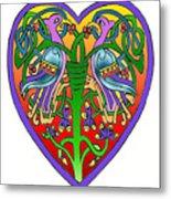 Valentine Heart Metal Print