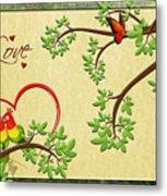 Valentine's Cards 8 Metal Print