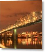 Valentine's Day In Chattanooga Metal Print