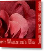 Valentines Day Love Metal Print