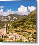 Valldemossa View From The Town Metal Print