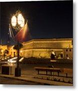 Valletta Light Metal Print