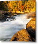 Valley Falls D30020399 Metal Print