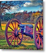 Valley Forge Canon Metal Print