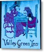 Valley Green Inn Metal Print