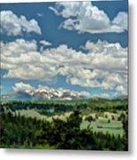Valley In The Rockies Metal Print