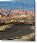 Valley Of Fire State Park Rainbow Vista Metal Print