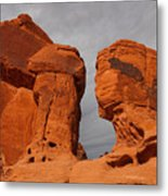 Valley Of Fire State Park Seven Sisters Metal Print