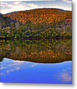 Valley Of Peace Metal Print by Kaye Menner