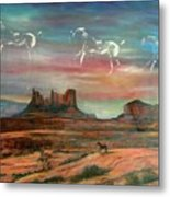 Valley Of The Horses Metal Print
