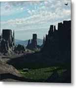 Valley Of The Kings Metal Print