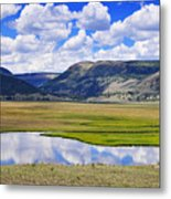 Valley Of The Serpent Metal Print