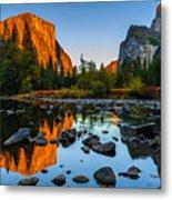 Valley View Yosemite National Park Metal Print by Scott McGuire