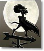 Vampire Moon Metal Print