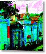 Vampire Tombs New Orleans Metal Print