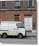 Van And Shop Metal Print