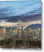 Van City Sunrise Metal Print