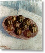 Van Gogh: Apples, 1887 Metal Print