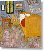 Van Gogh: Bedroom, 1888 Metal Print