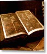 Van Gogh: Bible, 1885 Metal Print
