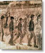 Van Gogh: Children, 1880 Metal Print