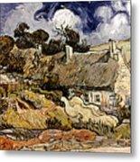 Van Gogh: Cordeville, 1890 Metal Print