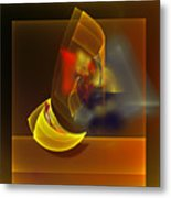 Van Gogh Drink All The Wine But The Remaining Cheese. Metal Print