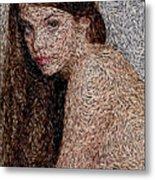 Van Gogh Eyes Metal Print