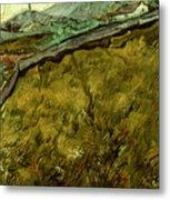 Van Gogh: Field, 1890 Metal Print