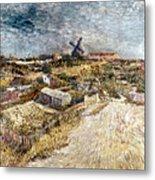 Van Gogh: Gardens, 1887 Metal Print