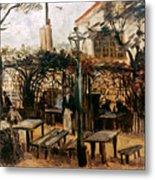 Van Gogh: Guingette, 1886 Metal Print