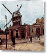 Van Gogh: La Moulin, 1886 Metal Print