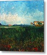 Van Gogh: Landscape, 1888 Metal Print