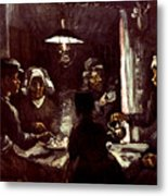 Van Gogh: Meal, 1885 Metal Print