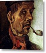 Van Gogh: Peasant, 1884 Metal Print