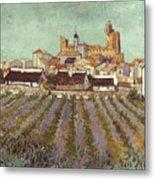 Van Gogh: Saintes-maries Metal Print