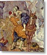 Van Gogh: Samaritan, 1890 Metal Print