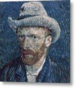 Van Gogh: Self-portrait Metal Print