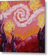 Van Gogh Sunset Metal Print