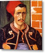 Van Gogh: The Zouave, 1888 Metal Print