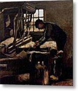 Van Gogh: Weaver, 1884 Metal Print
