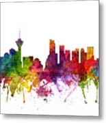 Vancouver Canada Cityscape 06 Metal Print