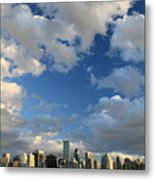 Vancouver City At Sunset Metal Print