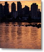 Vancouver From Stanley Park I Metal Print
