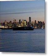 Vancouver Lights  Metal Print