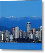 Vancouver Panorama   This Can Be Printed Very Large Metal Print