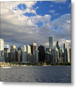 Vancouver Sunset From Stanley Park Metal Print