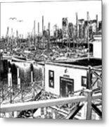 Vancouver Waterfront Metal Print